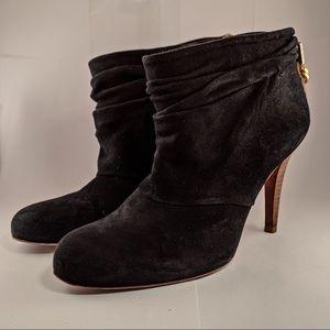 Tory Burch Slouch Suede Booties